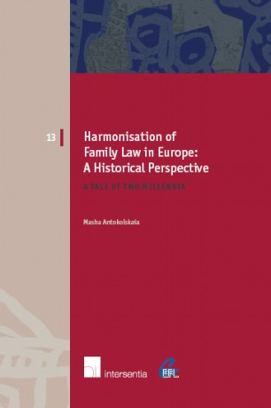 Harmonisation of Family Law in Europe: A Historical Perspective