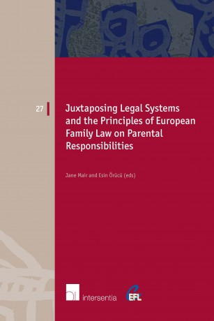 Juxtaposing Legal Systems and the Principles of European Family Law on Parental Responsibilities