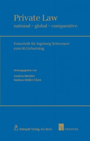 Private Law: national - global - comparative
