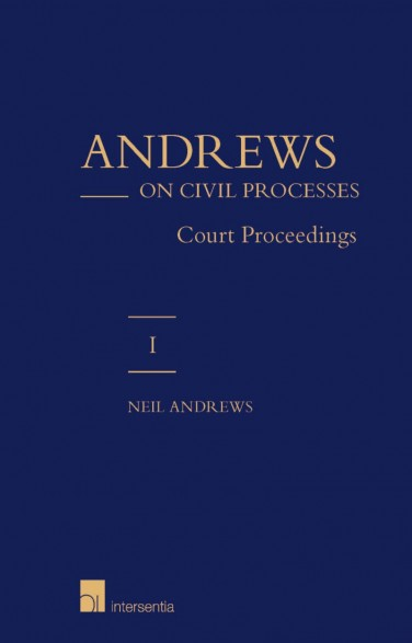 Andrews on Civil Processes (vol.1&2)