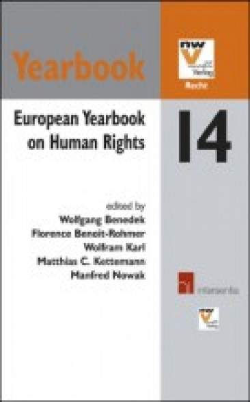 European Yearbook on Human Rights 14