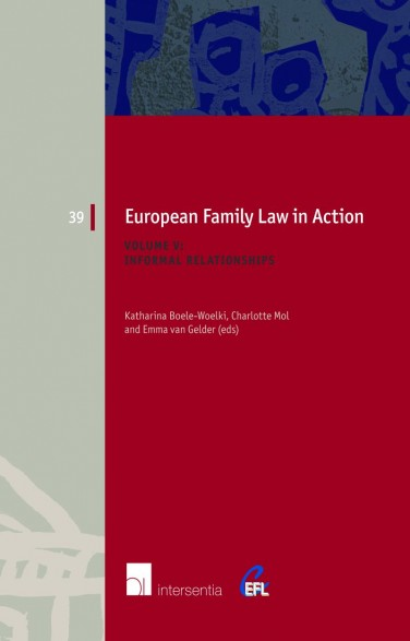 European Family Law in Action. Volume V - Informal Relationships