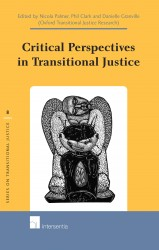 Critical Perspectives in Transitional Justice