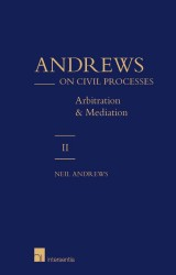 Andrews on Civil Processes - volume 2