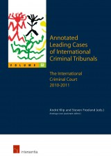 Annotated Leading Cases of International Criminal Tribunals - volume 52