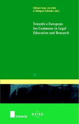 Towards a European Ius Commune in Legal Education and Research