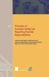 Principles of European Family Law regarding Parental Responsibilities